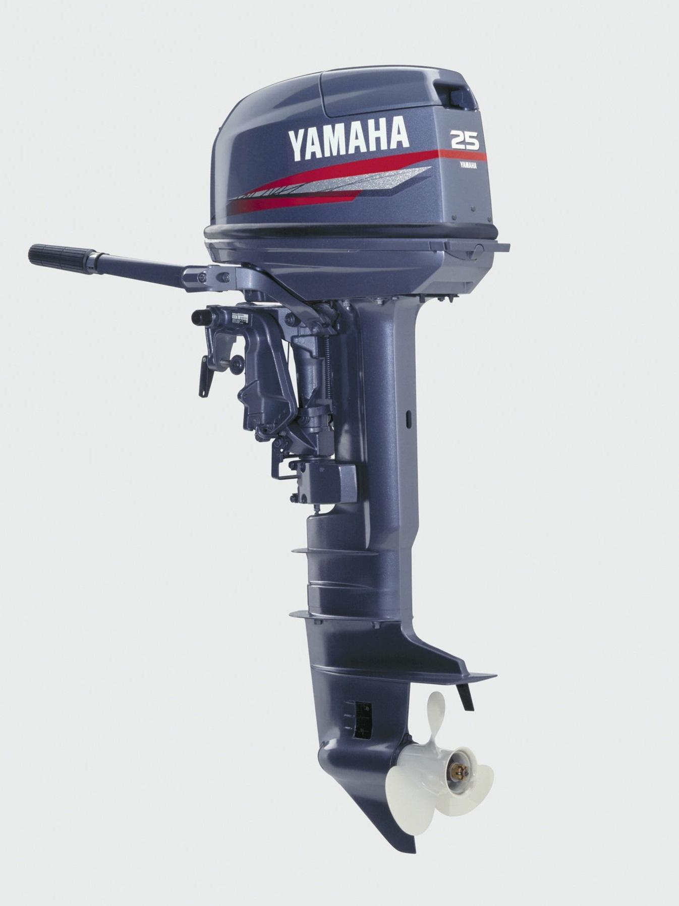 Лодочный мотор 2-х тактный Yamaha 25BWCS