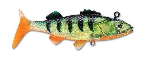 Мягкая приманка Storm WildEye Live Perch 6см 10гр (3шт/уп) WLPE02-FP