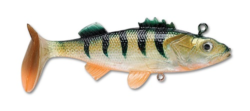 Мягкая приманка Storm WildEye Live Perch 10см 29гр (3шт/уп) WLPE04-OBP