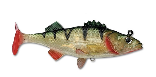 Мягкая приманка Storm WildEye Live Perch 6см 10гр (3шт/уп) WLPE02-P
