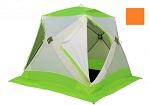 Палатка ЛОТОС Куб Классик А8 (модель 2017) оранжевый
