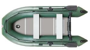 Лодка надувная YUKONA 300 TS (пайол - водостойкая фанера)