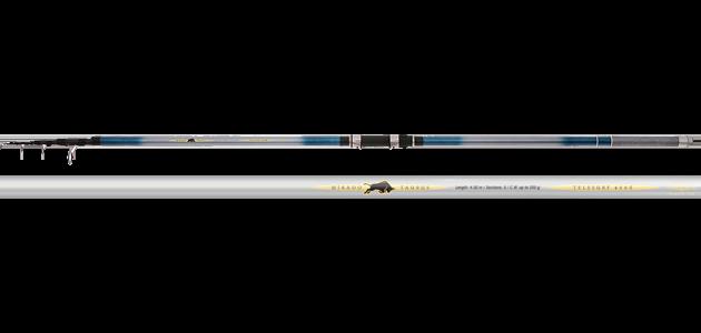 Телескопическое удилище Mikado  TAURUS TeleSURF 4005 (до 200гр.) Carbon