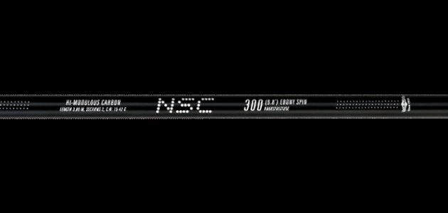 Спиннинг штекерный Mikado NSC Ebony Spin 300 Fuji IM9, в тубусе
