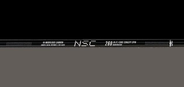 Спиннинг штекерный Mikado NSC Cube Concept Spin 260 IM9, в тубусе