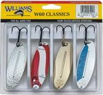 Набор блесен Williams 4-60W60 Wablers