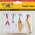 Набор блесен Williams 4-PCWE С50 & W30