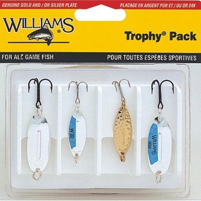 Набор блесен Williams 4-W32M W20 & W30