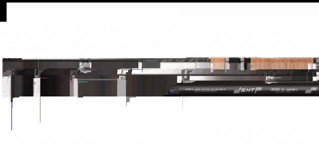 Спиннинг штекерный Mikado SHT M Spin 240 IM9