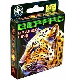 "Леска плетен. Scorana \""Gepard\"" флюор. 0.08 мм"