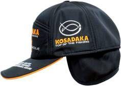 Бейсболка Kosadaka теплая Smart Tackle черная
