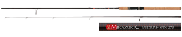 Спиннинг штекерный Mikado MIKAZUKI Medium + Spin 240 Carbon
