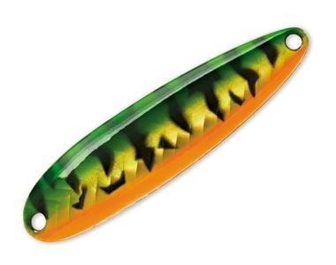 Колеблющаяся блесна Luhr Jensen KROCODILE SURE SET 1347 Green Tiger