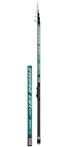 Телескопическое удилище Mikado SWORD CUT Bolognese 500 Carbon