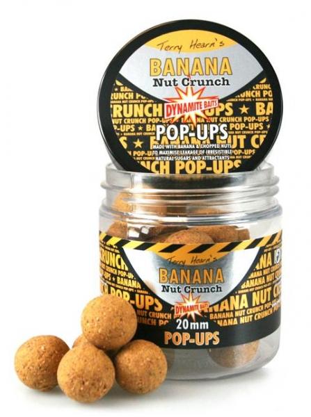 Бойлы плавающие Dynamite Baits Banana Nut Crunch 20 мм
