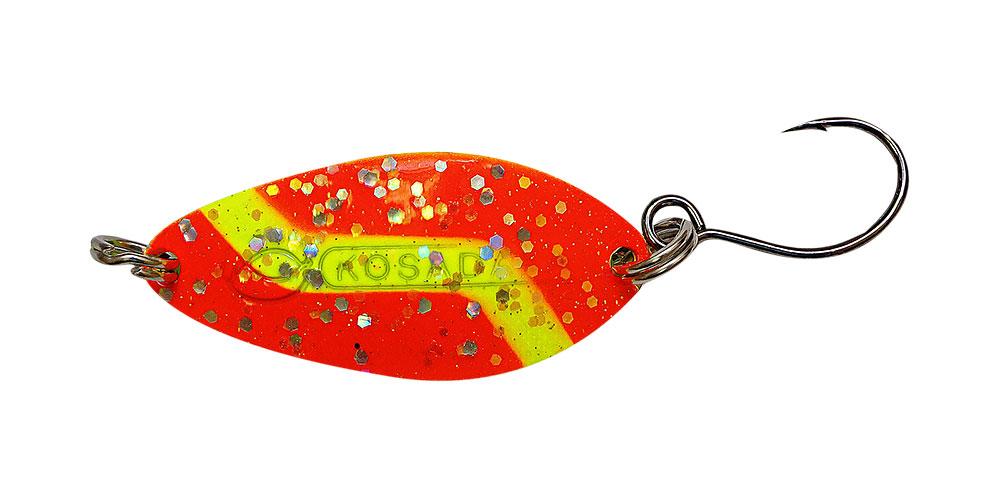 Блесна Kosadaka Buggy (одинарный крючок), 32мм, 4.5г., Цвет OY
