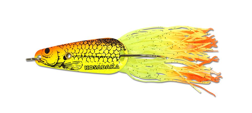 Блесна колеб.незацеп. Bullet spoon 14г, цв. C108 (Kosadaka)