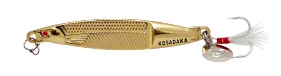 Блесна Kosadaka FAST Jig, 85мм, 20г., Gold