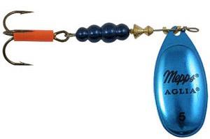 Блесна вращающаяся Aglia Platium Bleus 1, 3.5 гр