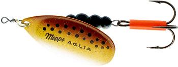 Блеcна вращающаяся Aglia Fluo Brown 5, 13 гр