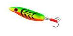 Блесна колеблющаяся Mepps Syclops Fluo Tiger 3, 26 гр