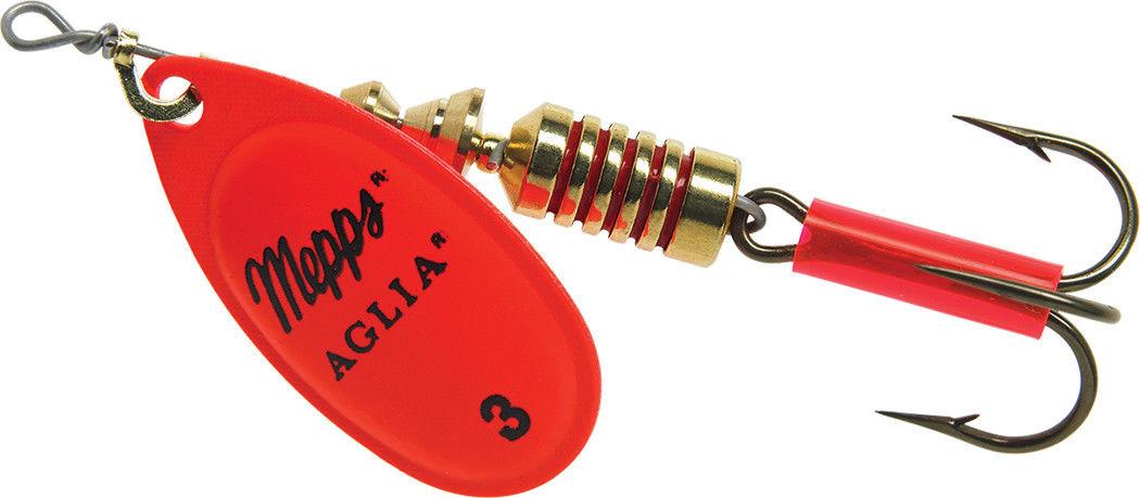 Блеcна вращающаяся Aglia Fluo Orange 3, 6.5 гр