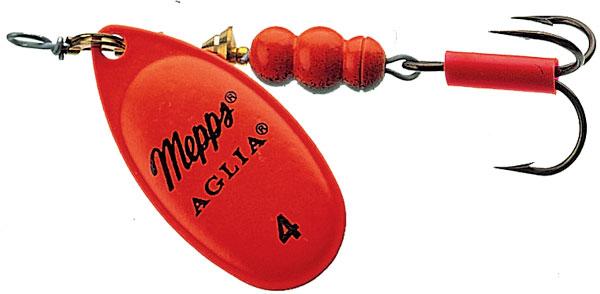 Блесна вращающаяся Aglia Fluo Rogue 4, 9 гр