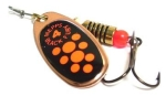 Блесна вращающаяся Mepps Black Fury Copper/Orange 3, 6.5 гр