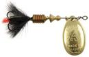 Блесна вращающаяся Mepps Aglia Mouche Gold/Black 1, 3.5 гр