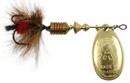 Блесна вращающаяся Mepps Aglia Mouche Gold/Red 1, 3.5 гр
