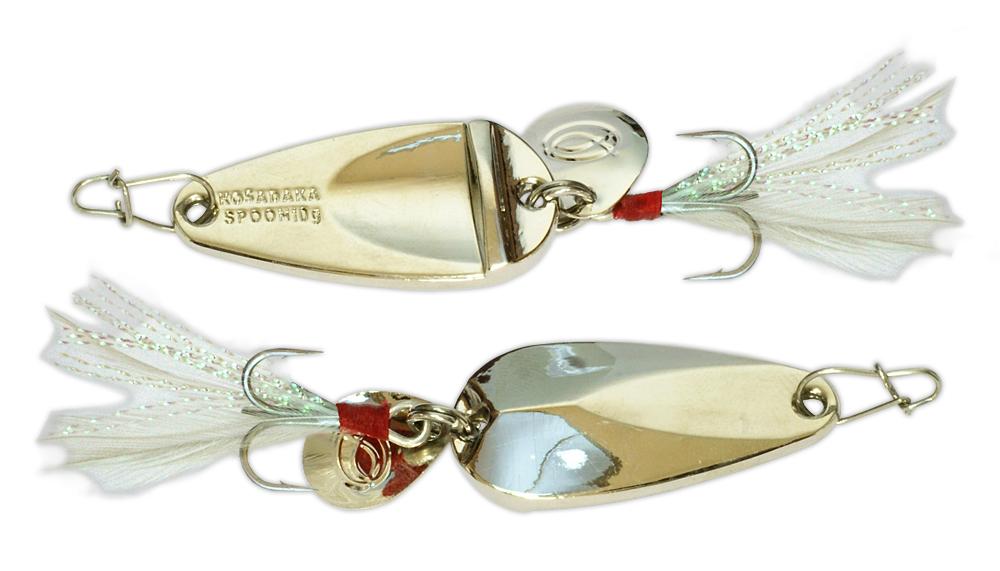 Блесна Kosadaka CLOGS Silver 28 мм, 5 гр