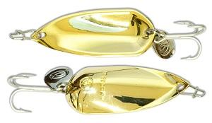 Блесна Kosadaka GRAV spoon Gold 45 мм, 12 гр