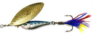 Блесна Kosadaka Quant BT-Gold № 4, 17 гр