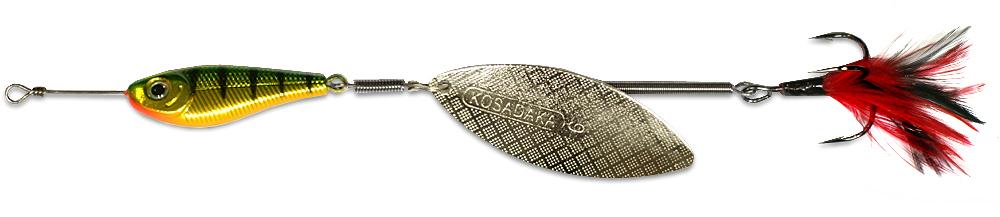 Блесна Kosadaka Quant V2 HT-Silver № 2, 9 гр