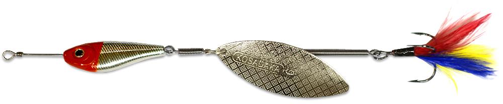 Блесна Kosadaka Quant V2 RH-Silver № 0, 3.5 гр