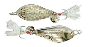 Блесна Kosadaka WARGA spoon Silver 62 мм, 15 гр