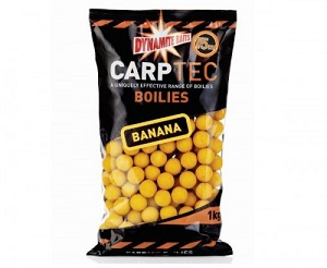 Бойлы плавающие Dynamite Baits 15 мм Carp Tec Pineapple and Banana 1 кг