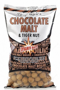 Бойлы плавающие Dynamite Baits 20 мм Chocolate Malt & Tigernut 2,5 кг