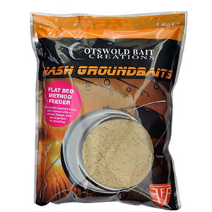 COTSWOLD BAITS  Прикормка  Flat Bed Method Feeder Groundbait  1.5кг CB0538