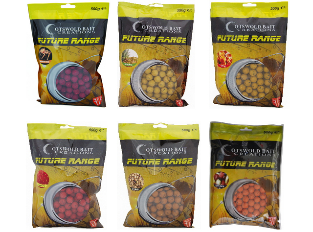 COTSWOLD BAITS  Бойли тонущие FUTURE Strawberry Shelf Life Boilies 15mm 200g FB283