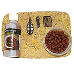 COTSWOLD BAITS  Прикормочный набор  Method Mix Kit - Spicy Curry CB0517