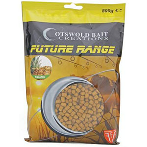 COTSWOLD BAITS  Пелетс FUTURE Pineapple Pellets 6mm, 500g FB200