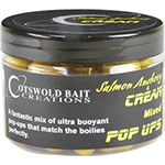 COTSWOLD BAITS  Бойли плавающие SALMON, ANCHOVIE & CREAM Mixed Pop Ups 10mm, 14mm & Dumbells, 150ml CB0329