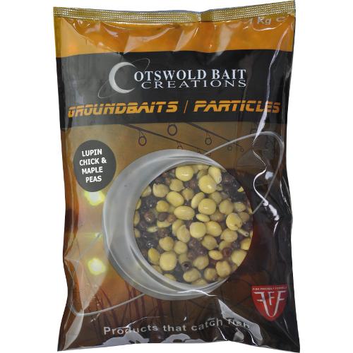 COTSWOLD BAITS  Консервированная приманка Shelf Life Lupin, Chick and Maple Peas 1кг CB0399