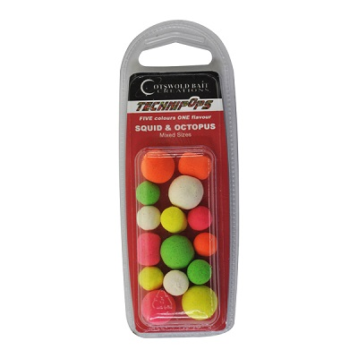 COTSWOLD BAITS  Technipops Squid & Octopus 14mm 10шт BP0002