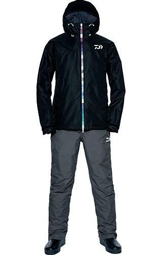 Костюм утеплённый непромокаемый дышащий DAIWA DW-3302 BLACK XL / 895040