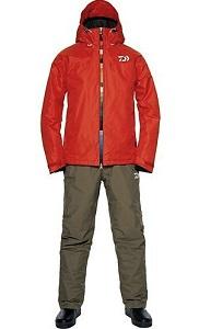 Костюм утеплённый непромокаемый дышащий DAIWA DW-3302 RED XL / 895163