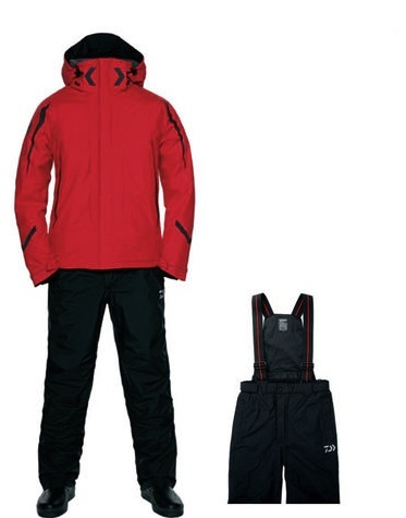 Костюм утеплённый непромокаемый дышащий DAIWA DW-3402 RED XL / 895316