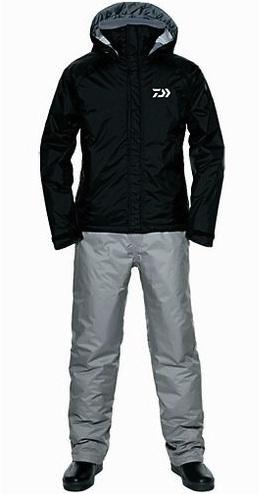 Костюм утеплённый непромокаемый дышащий DAIWA DW-3502 BLACK 3XL / 895385
