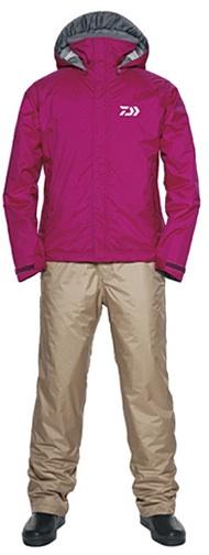 Костюм утеплённый непромокаемый дышащий DAIWA DW-3502 MAGENTA XL / 895514